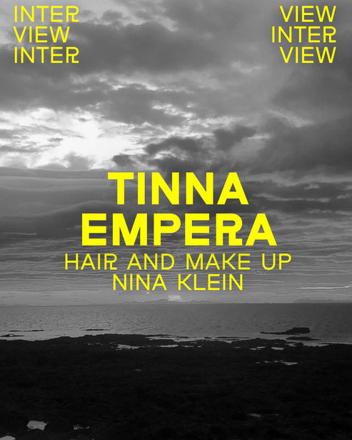 NINA KLEIN , NEW ENTRY HAIR & MAKE UP: TINNA EMPERA BASED IN HAMBURG/BERLIN
