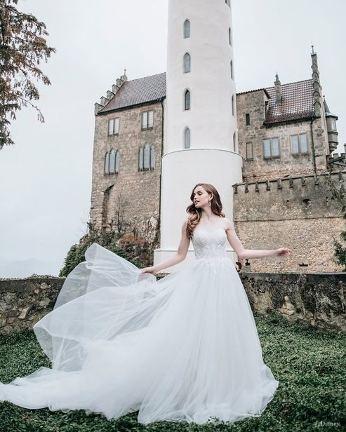 'Dream, Wish & Believe' 7 SEAS PRODUCTIONS for 'The Disney Fairy Tale Weddings Collection' by Allure Bridals