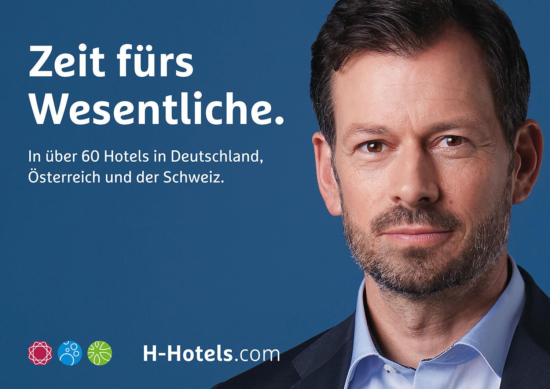 D. & A. Plattner GBR / fashion-styling for H-Hotels campaign: Zeit fürs Wesentliche.