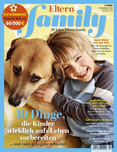 Miriam Lindthaler für das Magazin Eltern Family
