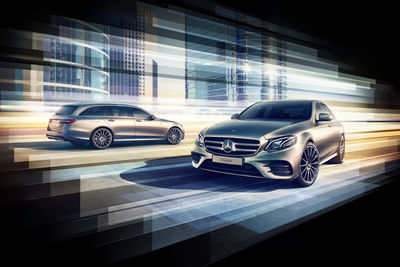"MANU AGAH Photography for MERCEDS-BENZ - International campaign ""Flottensterne"""
