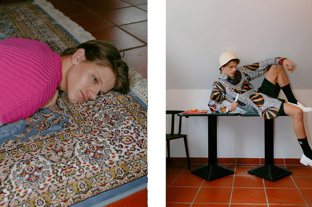 BIGOUDI: Francesca Vigliarolo für Fucking Young Magazine