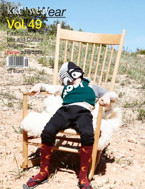 Kid's Wear Magazine Vol. 49 Cover by Achim Lippoth