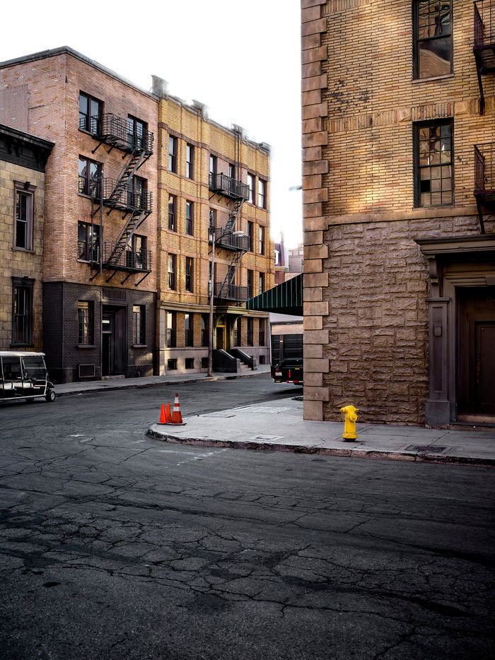 HAUSER FOTOGRAFEN: LEIF SCHMODDE - New York Backlot, Paramount Studios, Hollywood, Los Angeles