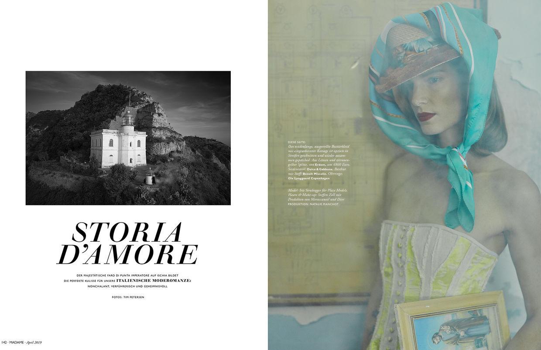 TIM PETERSEN, MADAME Magazine 04/19, Storia D'Amore