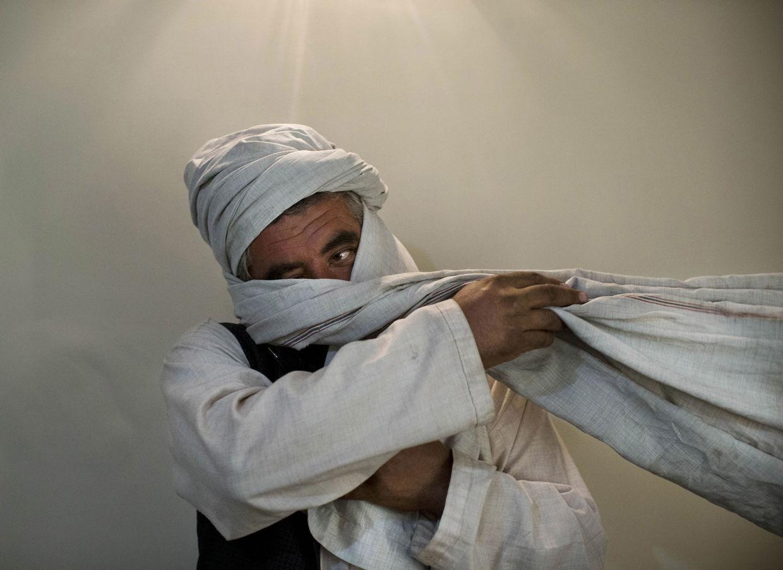 GOSEE ART: Unbekannter Taliban-Kämpfer, Kabul, Afghanistan,  15. Oktober 2012  © Anja Niedringhaus/AP