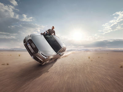 "ANKE LUCKMANN for AUDI ""Easy Rider"""