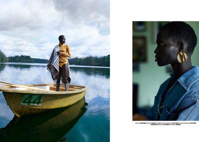 BIGOUDI: Suzana Santalab für Vogue Portugal