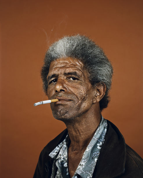 BEING PRESENT: Pieter Hugo - Shaun Oliver, Cape Town, 2011, from the Kin series. Courtesy of the artist.