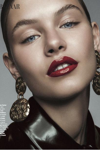 Johanna S c/o EAST WEST MODELS for Harper's Bazaar Serbia