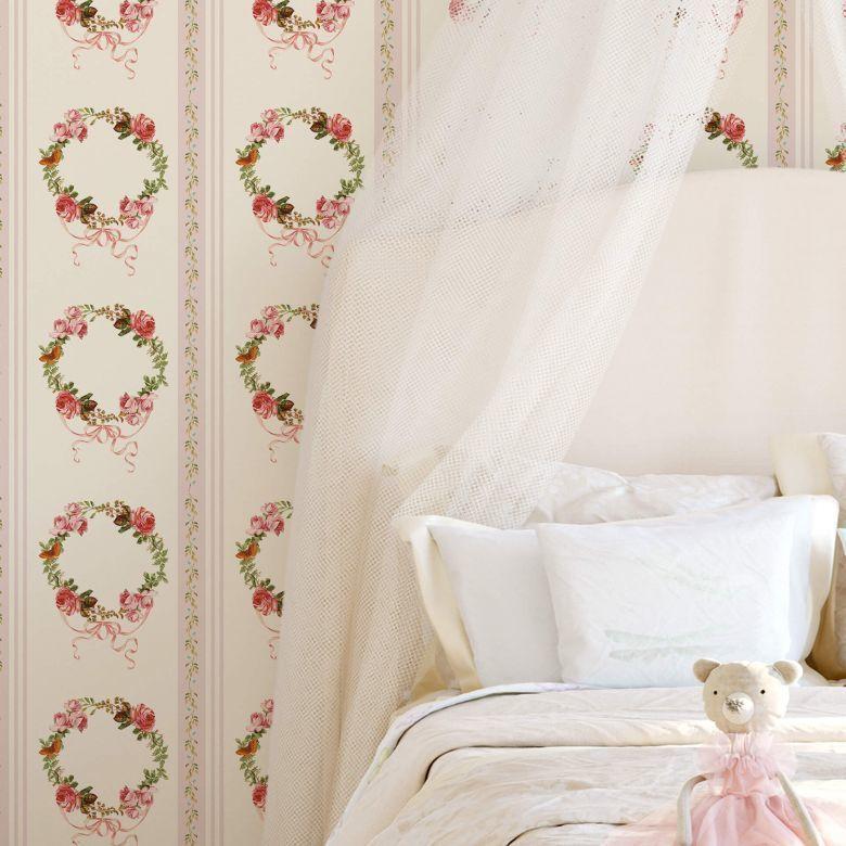 UTART Mustertapete UN Designs - Vintage Rosen Mustertapeten - zeitlos schöne Designs immer wieder neu im Trend!  https://www.wall-art.de