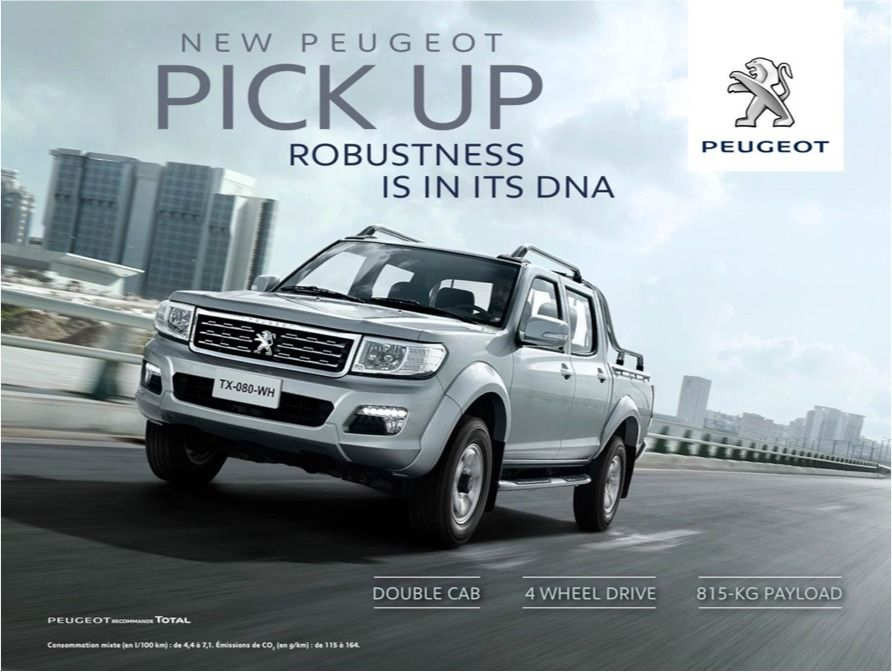 gosee ::: continental productions for new peugeot pick up