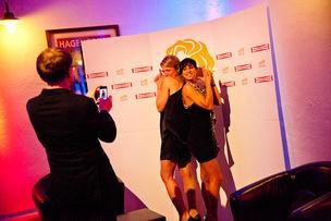 Winner Dinner 2011 :  Ina Bach (Grabarz & Partner), Sahar Kia (Modern Music School)