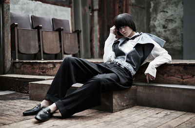 BIGOUDI Mily Serebrenik für Harper's Bazaar Kasachstan