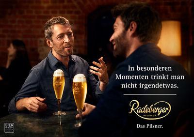 """SEVERIN WENDELER: Photography by """"Per Kasch c/o Severin Wendeler"""" for Radeberger."""
