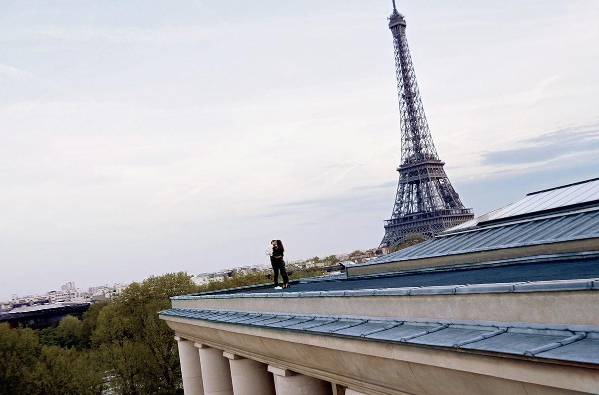 Crista Cober shot by Loïc Peoc'h for Yves Saint Laurent