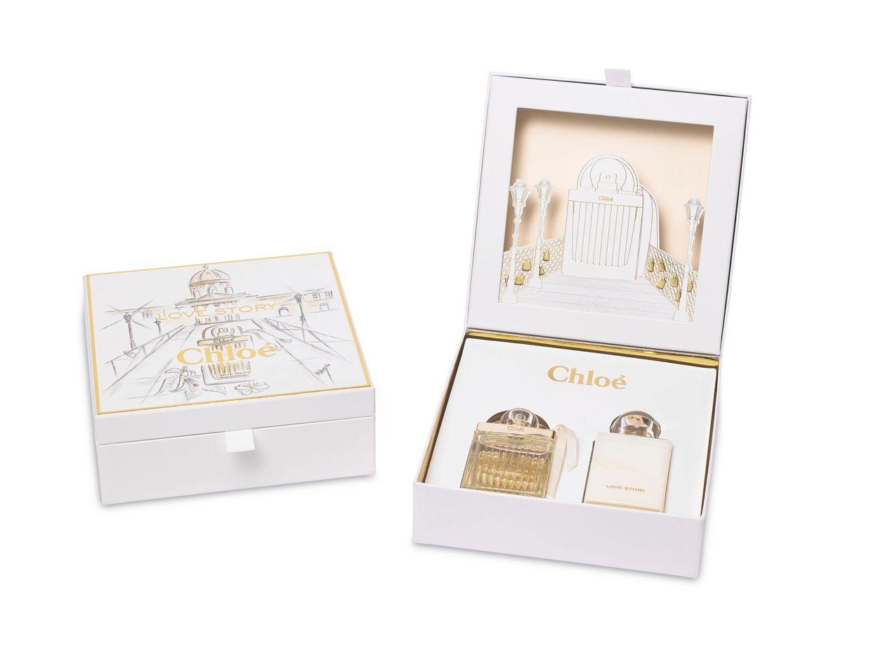 Liebevoll Verpackt Das Chloé Parfum Love Story Illustration