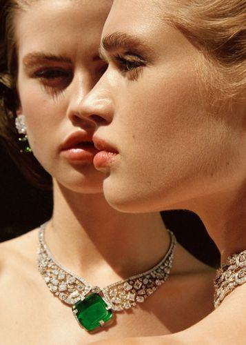 Ella Hope for Bulgari for Italian Vogue shot by Amanda Charchian