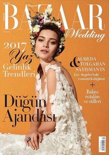 Karolina Gorzala for Harper's Bazaar Wedding turkey S/S 2017