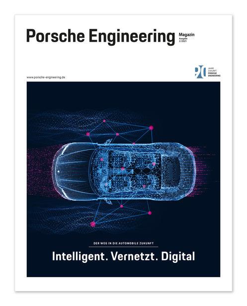 3D illustration by Armin SCHIEB c/o SEPIA for Porsche Engineering Magazine