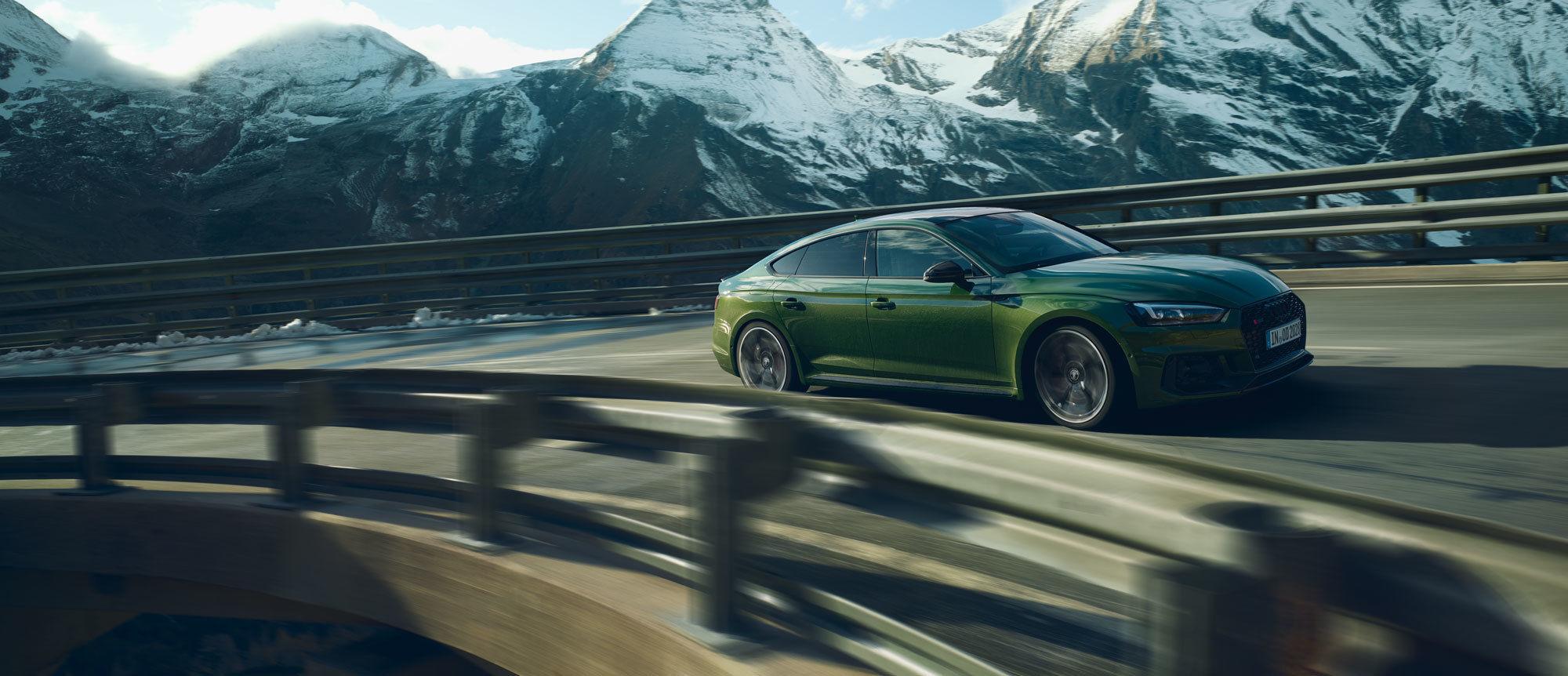 JOHANNES KüHN Audi RS5 am Großglockner