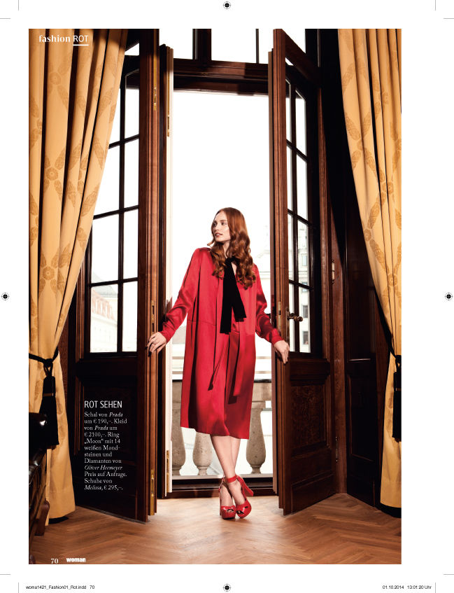SUZANA SANTALAB for Woman Magazine