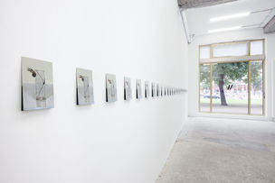 Galerie Wagner + Partner : Peter Dreher, Die Kleeblume (07.09 - 27.10.2012), Opening