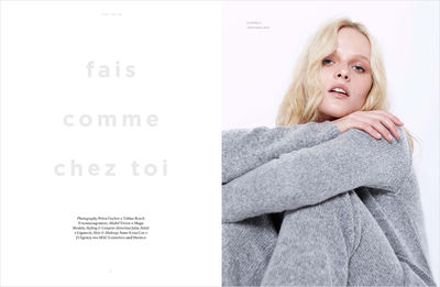 JULIA ATITIÉ FOR ONE MAGAZIN