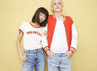 YOU GO GIRL campaign for MONKI by Frida MARKLUND c/o LUNDLUND