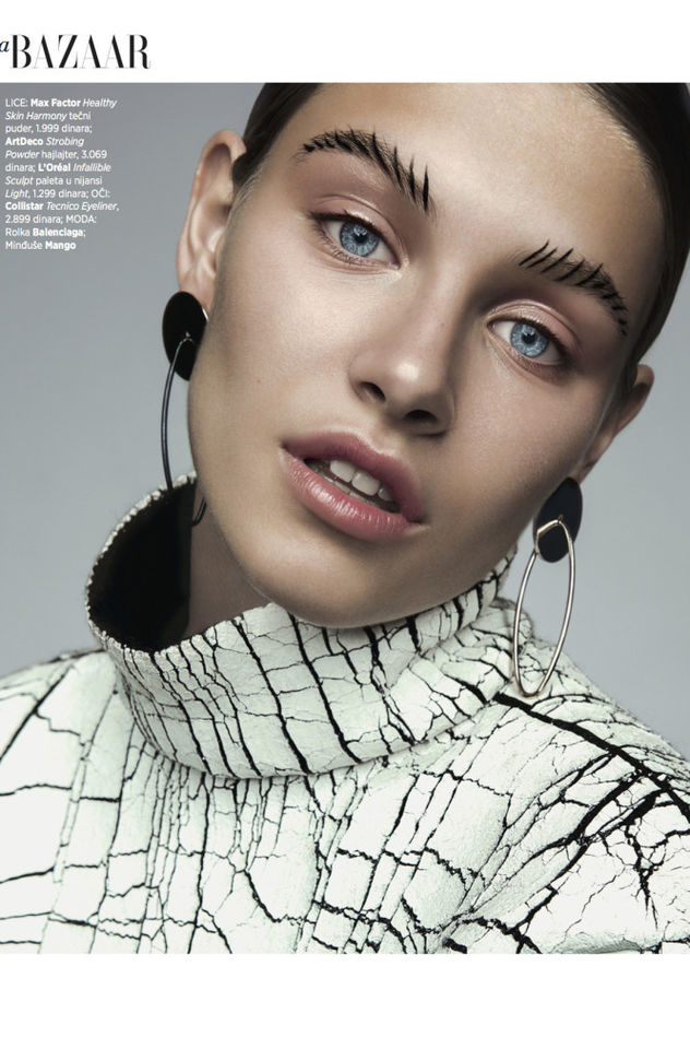 Johanna S c/o EAST WEST MODELS for Harper's Bazaar Serbia