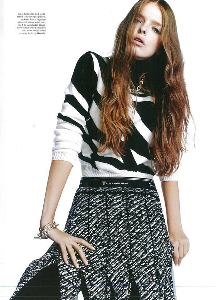 VIVA MODELS : Marta Lewandowska for Style Magazine Singapore