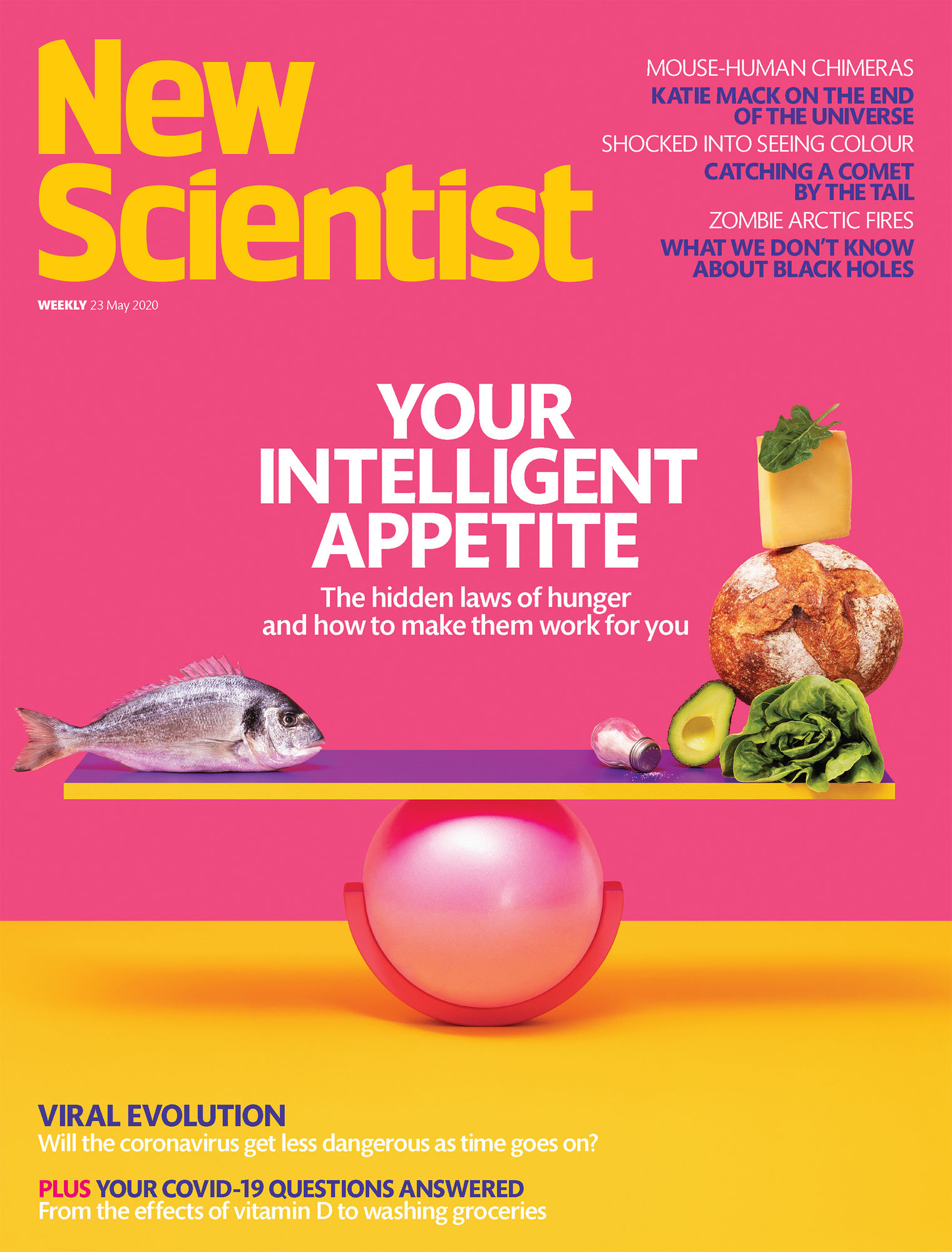 COSMOPOLA GMBH - ILKA & FRANZ for New Scientist - Pump it up!