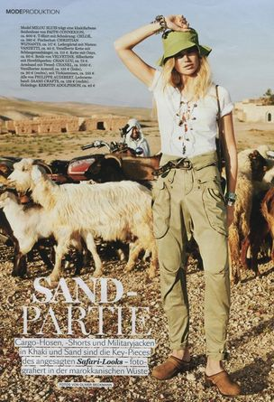 MD MANAGEMENT : Milou Sluis for Instyle Germany