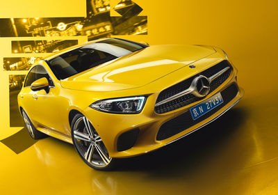 "Igor Panitz: Mercedes-Benz Cars Calendar 2019 ""A World of Colour"""