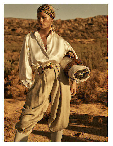 BAKER KENT : Lachlan Bailey  for VOGUE Paris