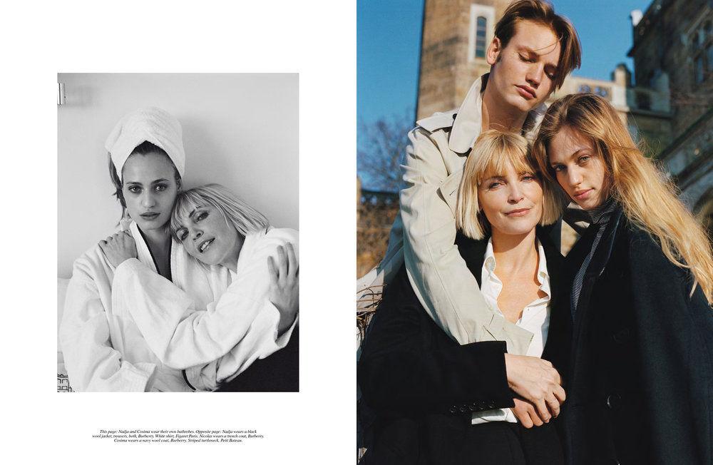VIVA MODELS: Nadja & Cosima Auermann for Self Service Magazine Spring/Summer 2018