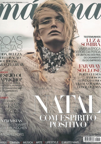 MAXIMA REVISTA Dezember Issue Cover