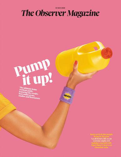 COSMOPOLA GMBH - ILKA & FRANZ for The Observer Magazine - Pump it up!