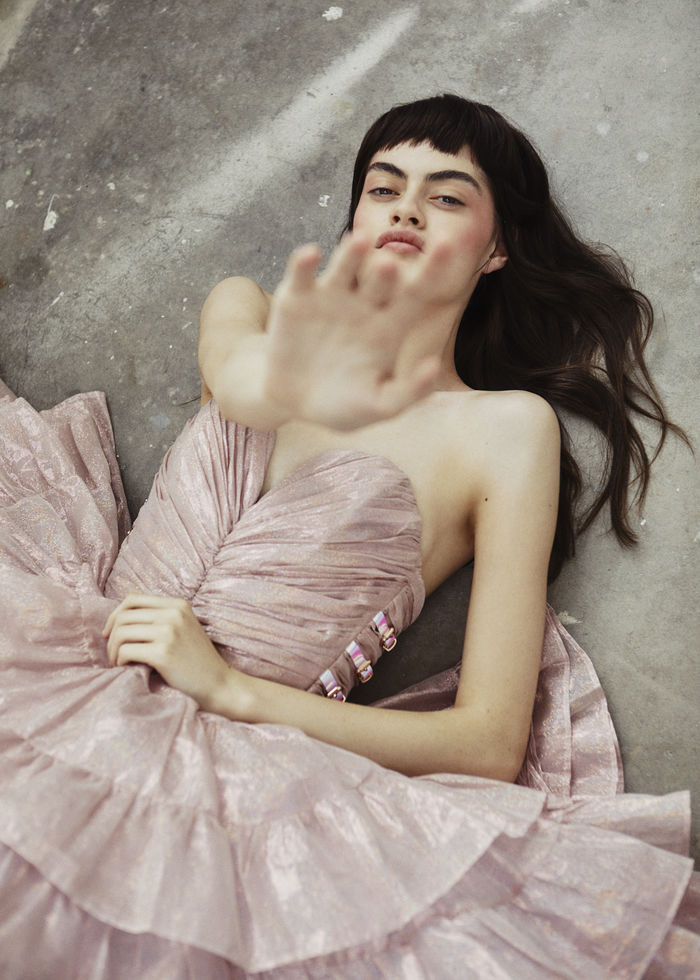"Amelia Kearney / Iconic Management by MARIE SCHMIDT in ""Romance Born"" for Glamour South Africa"