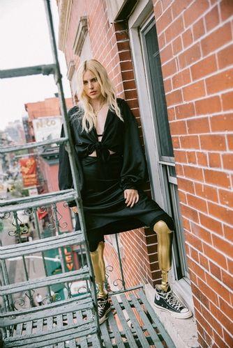 COSMOPOLA GMBH / DENIZ ALACA - Lauren Wasser for Interview Magazin