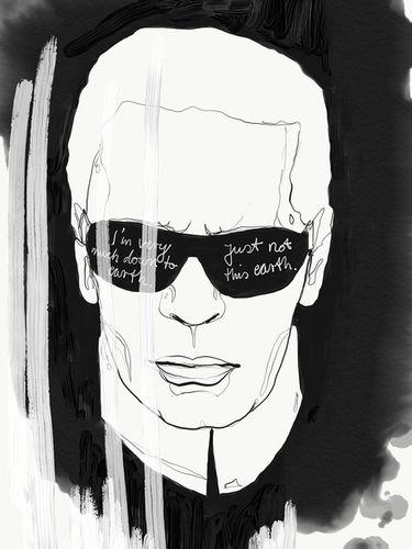 Tribute to Karl Lagerfeld / Katrin Wolff