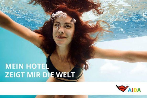 MARLENE OHLSSON PHOTOGRAPHERS – AIDA Cruises CAmpaign – Mein Hotel zeigt mir die Welt – Jules Esick