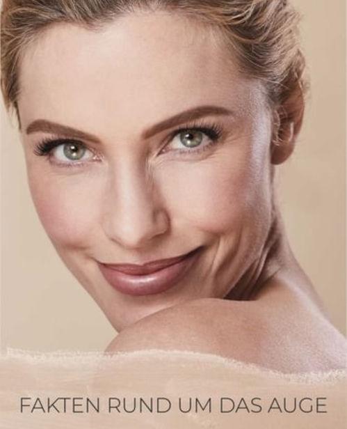 Sandra Lachner Kampagne for Smile Eyes Kliniken