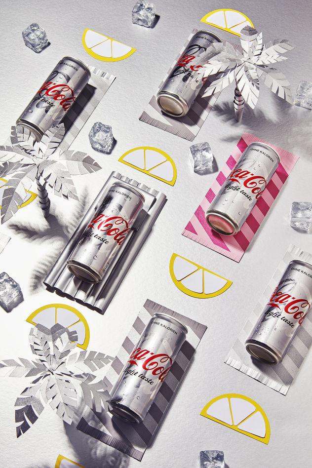 EYECANDY Glamour x Coca Cola für: GLAMOUR Kunde: Coca Cola Agentur: CONDÉ NAST VERLAG GmbH - Creative Studio