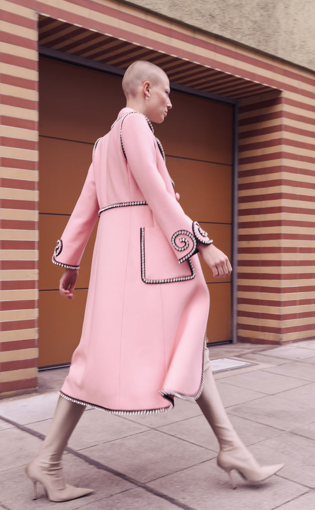 BRODYBOOKINGS: LOTTE for a GUCCI Editorial