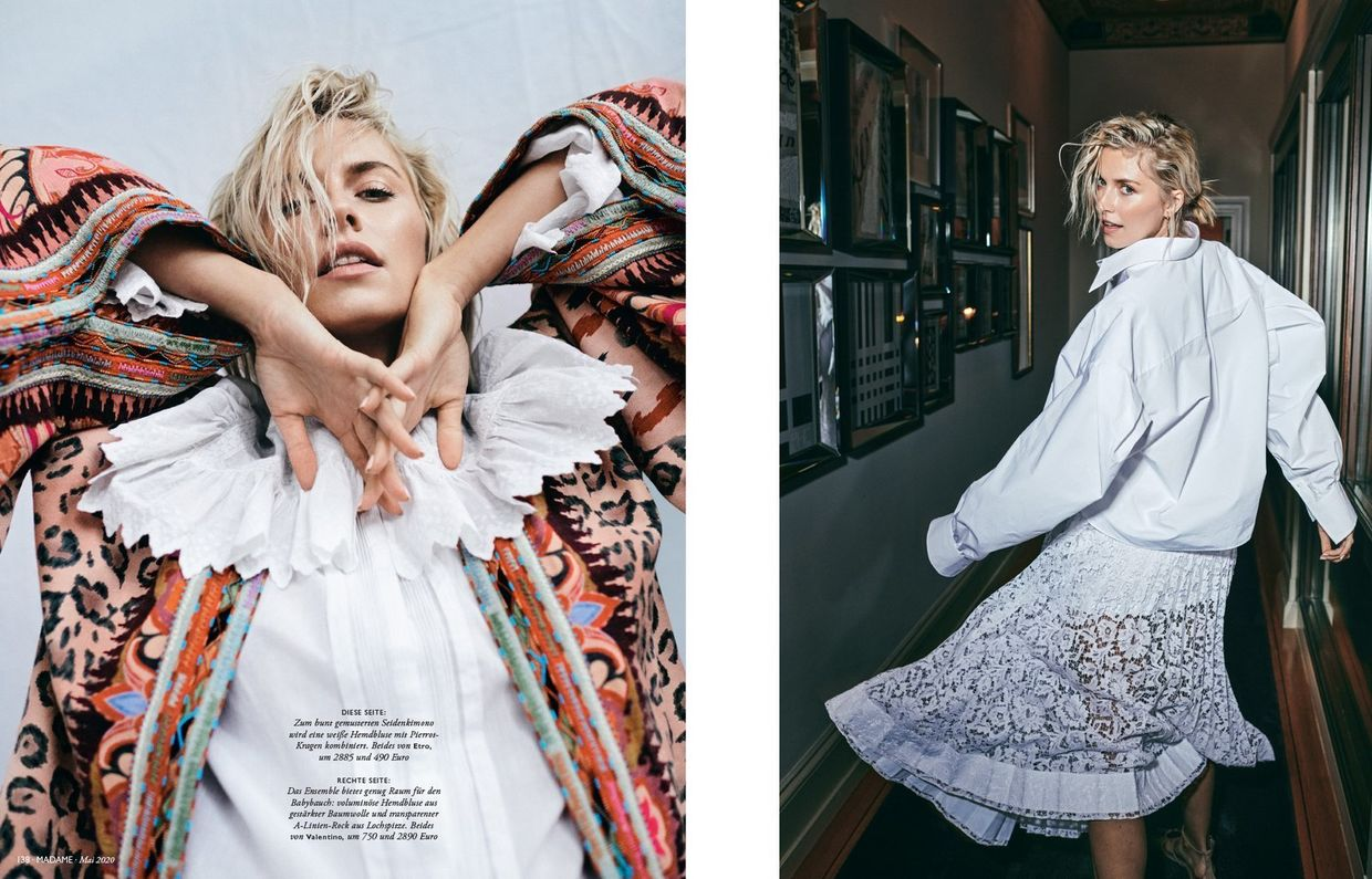 NINA KLEIN, Hair & Make Up Benjamin Becher, Alex Waltl, Lena Gercke, Madame