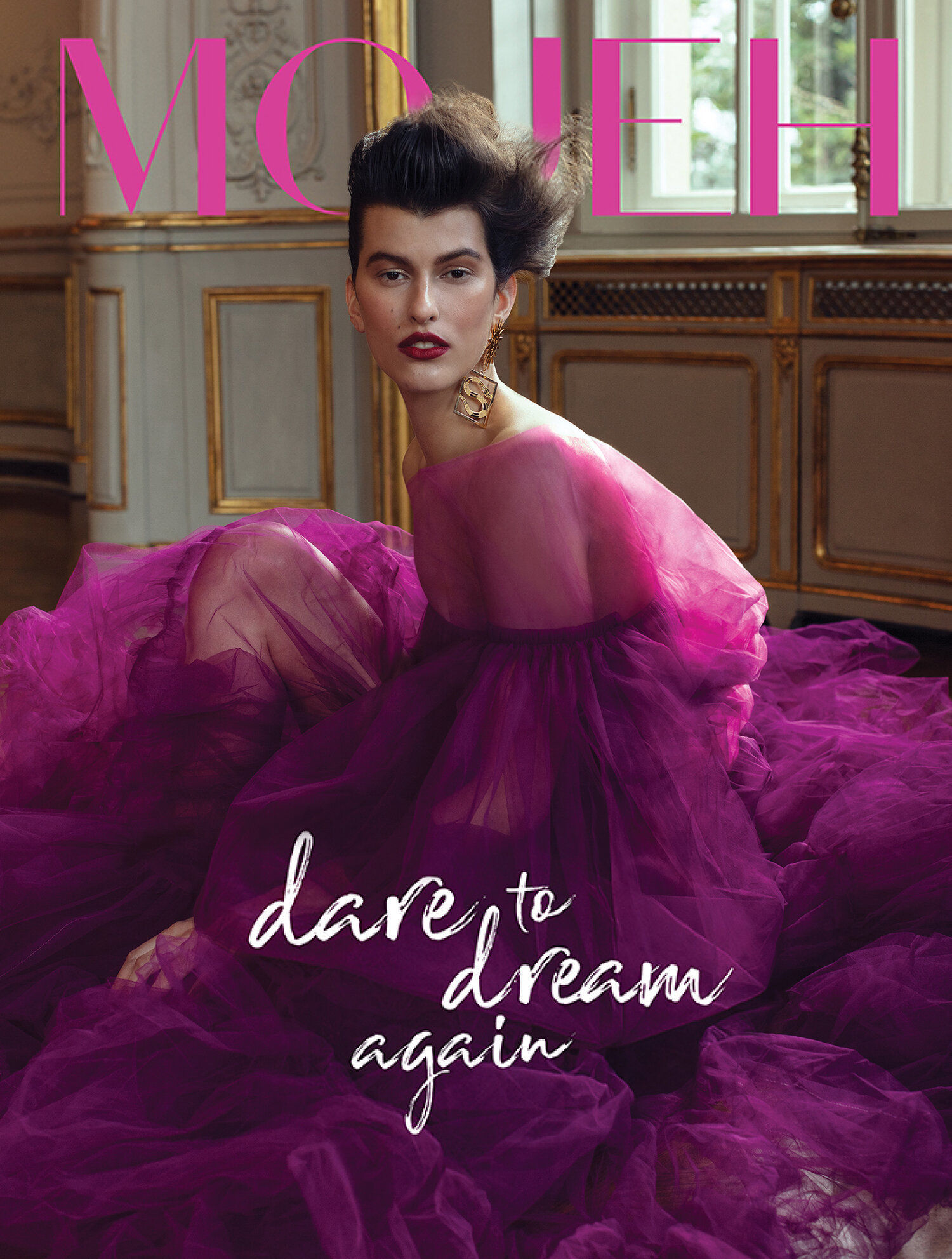 'Dare to dream again' MOJEH Cover Story by Vivienne Balla and Tamas Sabo c/o KLEIN PHOTOGRAPHEN