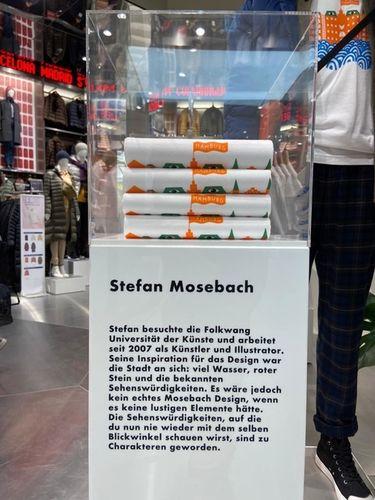 WILDFOX RUNNING: Stefan Mosebach for Uniqlo in Hamburg