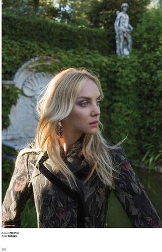 LOUISA MODELS: Heather MARKS for HARPER'S BAZAAR Turkey