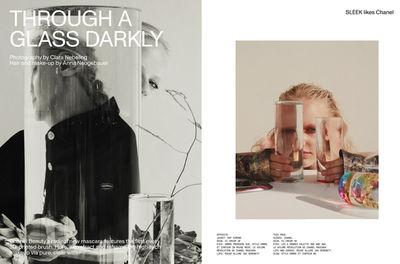 LIGANORD ARTIST NINA LEMM / SET STYLING - SLEEK MAGAZINE